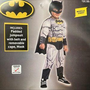 Batman Costumes - Batman Halloween Costume Toddler 3 To 4 Years